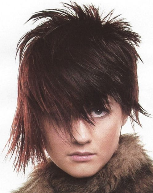 Short Punk Hairstyle For Girls Looking Crazy Hair Hair Styles
