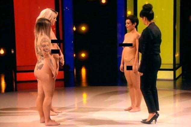 Naked tv girl games