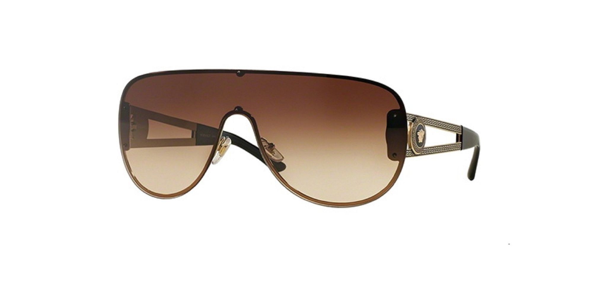 Versace VE2166 Sunglasses   Versace, Bald hairstyles and Shapes