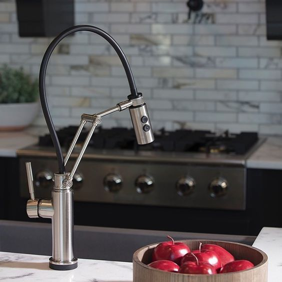 Articulating Kitchen Faucet Costco Mat The Brizo Artesso Is A That Combines Beauty And Function In One Available With Or Without Smarttouch Technology