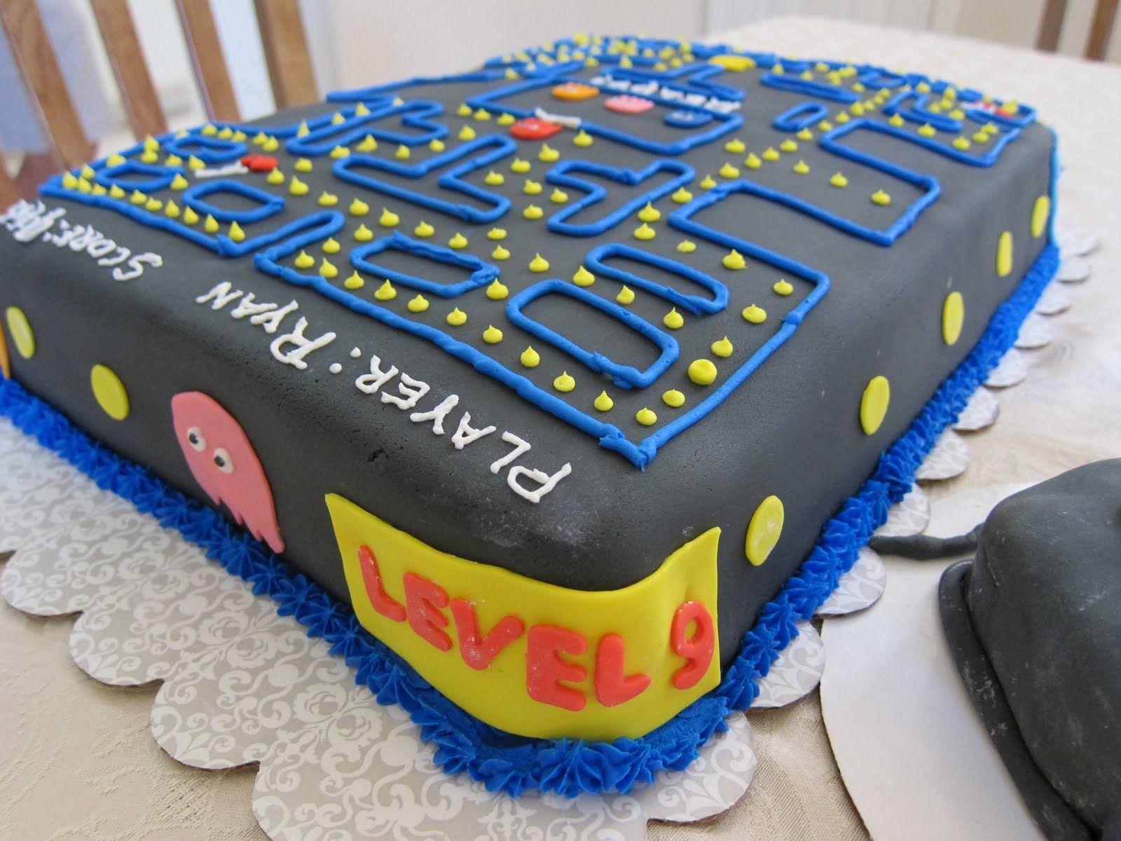 Google themes pacman - Claudia S Cakes Pac Man Cake
