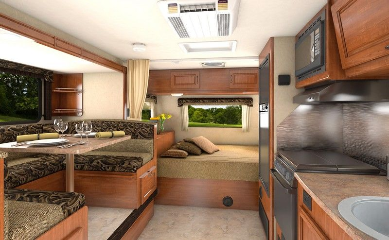 The Gorgeous Inside Of 1685 Lance Travel Trailer