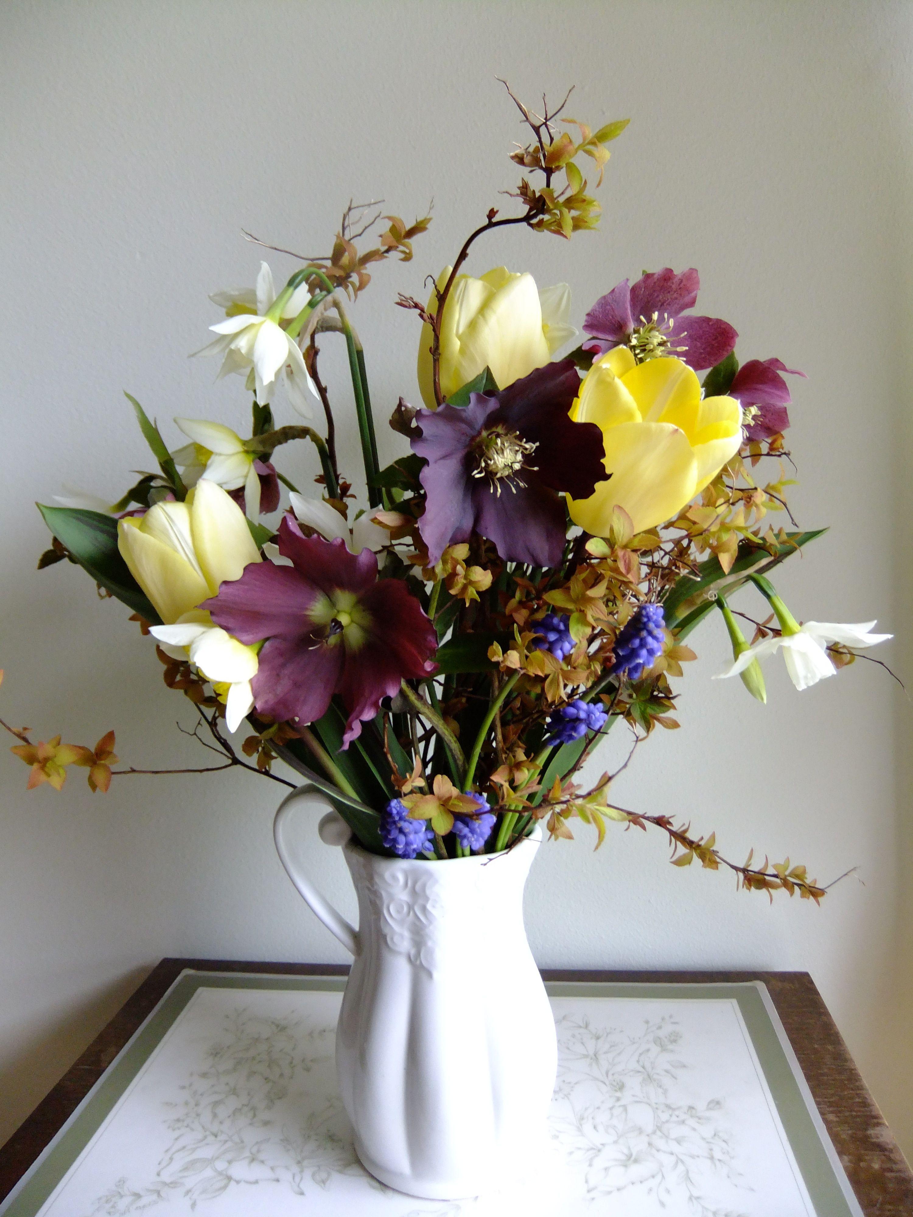 My treat Spring posy. Flowers  by Honey Pot Flowers
