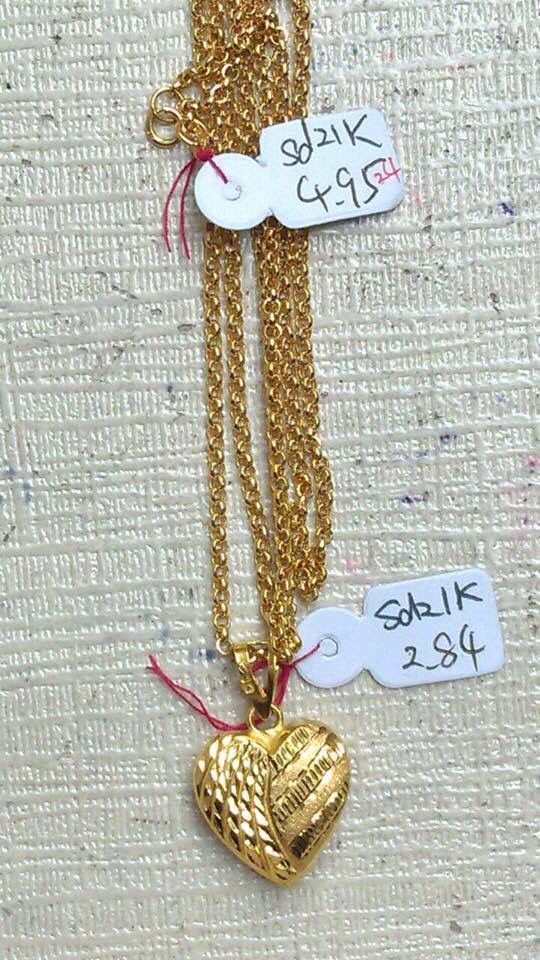 Generous 22k Saudi Gold Necklace Gallery - Jewelry Collection ...