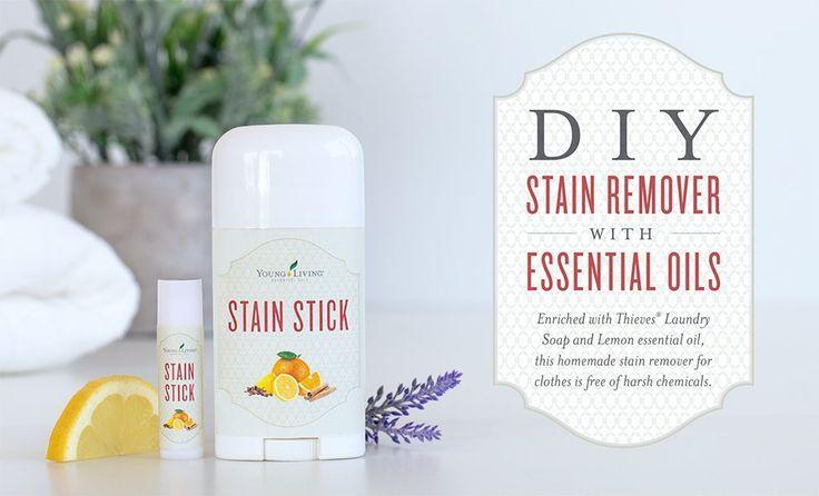 Essential Oil Stain Remover Stick