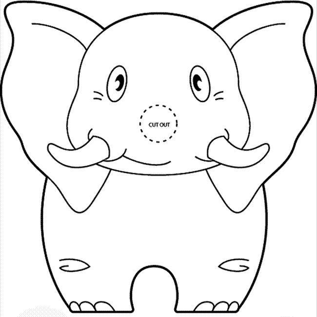 traktatie olifant olifant knutselen olifanten feestje