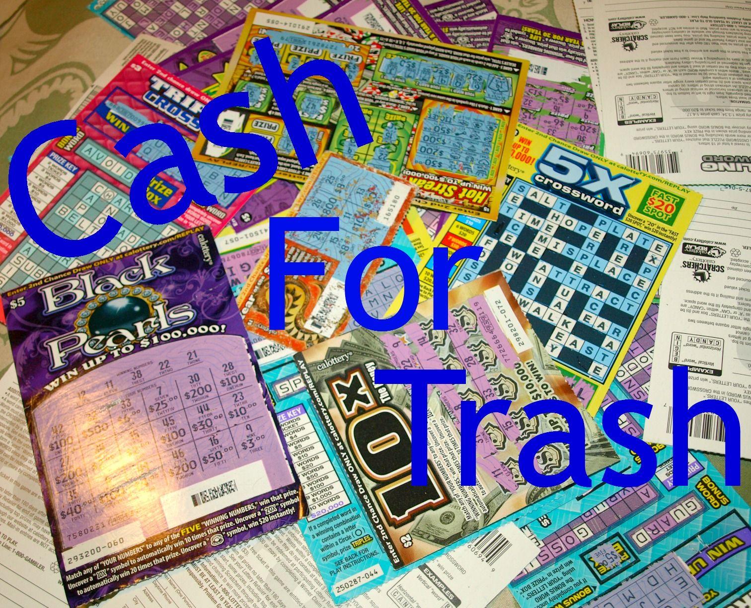 Cash for trash trash win money shopping hacks