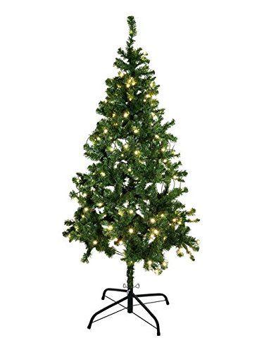 Tannenbaum Beleuchtet Kunststoff.Europalms X Mas 83500298 Tannenbaum Beleuchtet 180cm Tannenbaum
