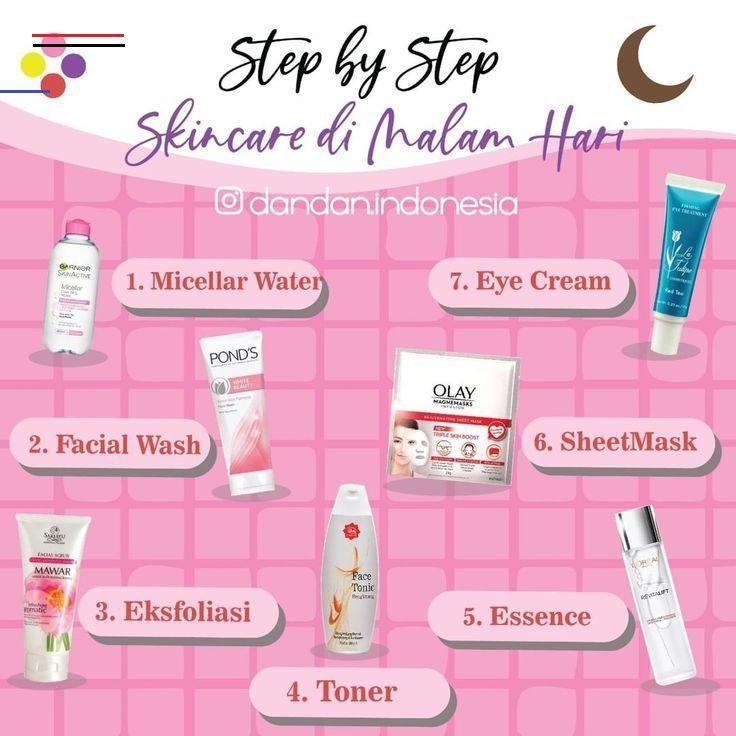 Urutan Skincare Malam Untuk Kulit Berminyak Dan Berjerawat