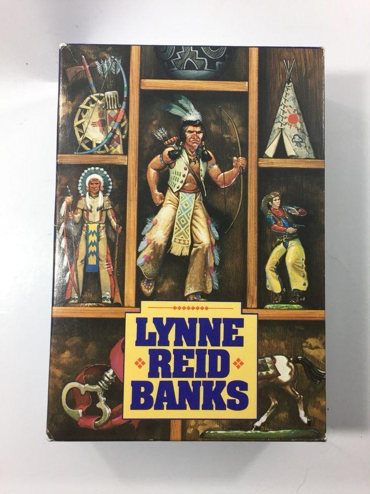 The Indian In The Cupboard Series Lynne Reid Banks Set Of 4 In Slipcase Vintage Indian In The Cupboard Vintage Children S Books Vintage Children