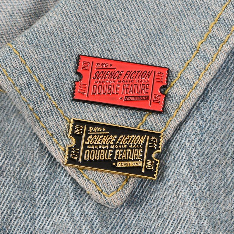Rocky Horror Picture Show Ticket Enamel Pin (mp347 ...