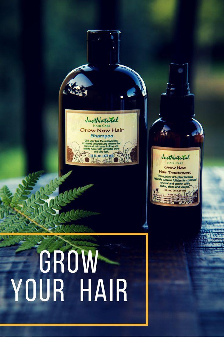 Grow New Hair Shampoo   hair products   Hair shampoo, Hair ...
