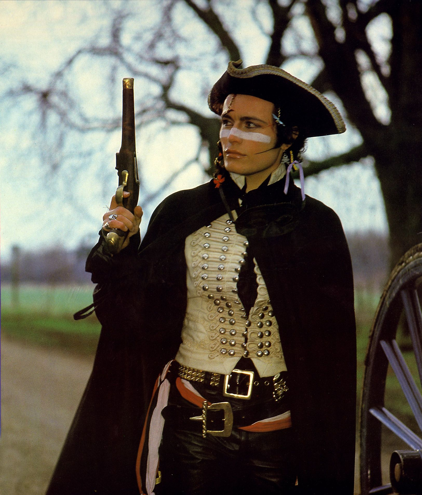 Adam Ant popularised the romantic side of punk with