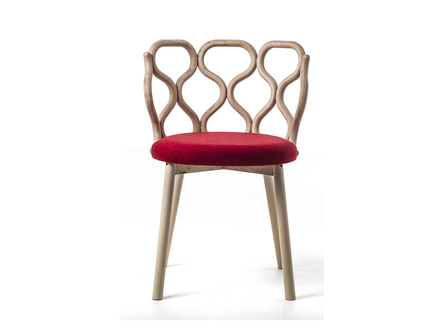 Cool wooden chair designs - Upholstered Wooden Chair Gerla Gerla Collection By Very Wood Design Lucidipevere