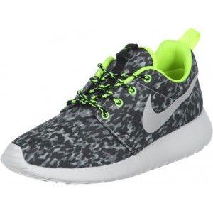 hot sale online f8b4b e48b5 Ik vond dit op Beslist.nl Nike Roshe Run Print W schoenen grijs neon geel  35,5 EU