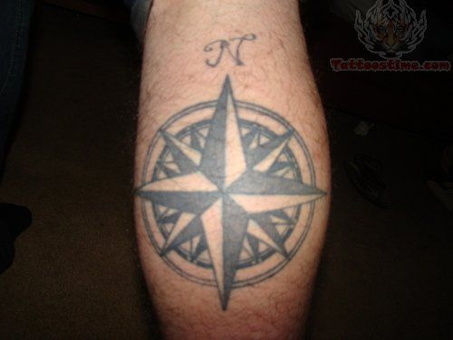 Nautical Star Tattoo on Elbow Meaning Nautical Star Elbow Tattoo ...