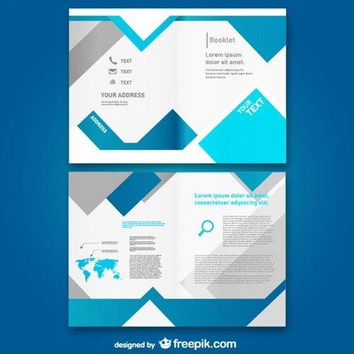 無料で使えるプロが作ったパンフレット用テンプレート34 freebie