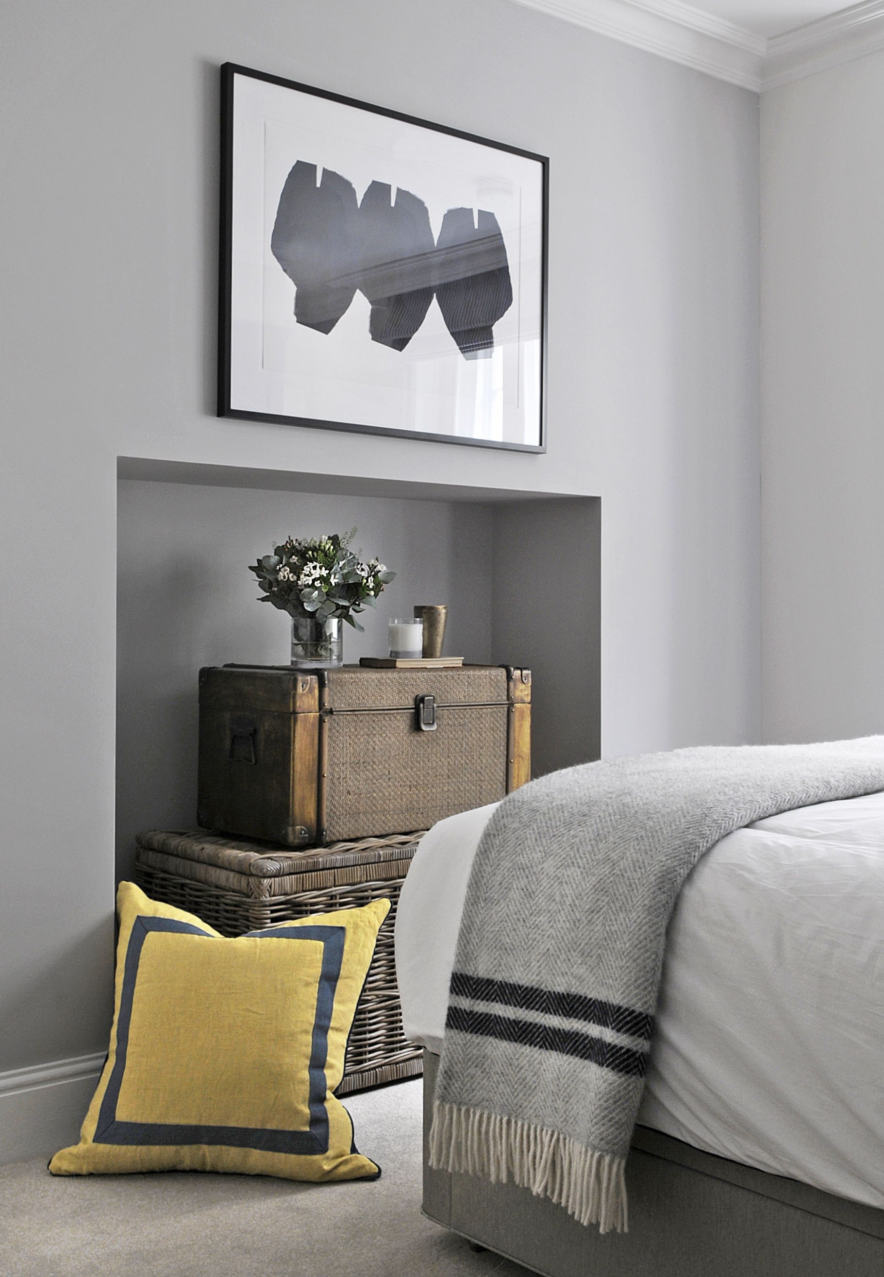 Grey And Yellow Bedroom Enchanting Light Grey Yellow  Scottish Hideaway  Pinterest  Grey Yellow Design Decoration