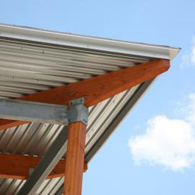 Corrugated Metal Panels Are Ideal For Rainproofing Outdoor Sitting Areas Roof Panels Metal Roof Steel Roofing
