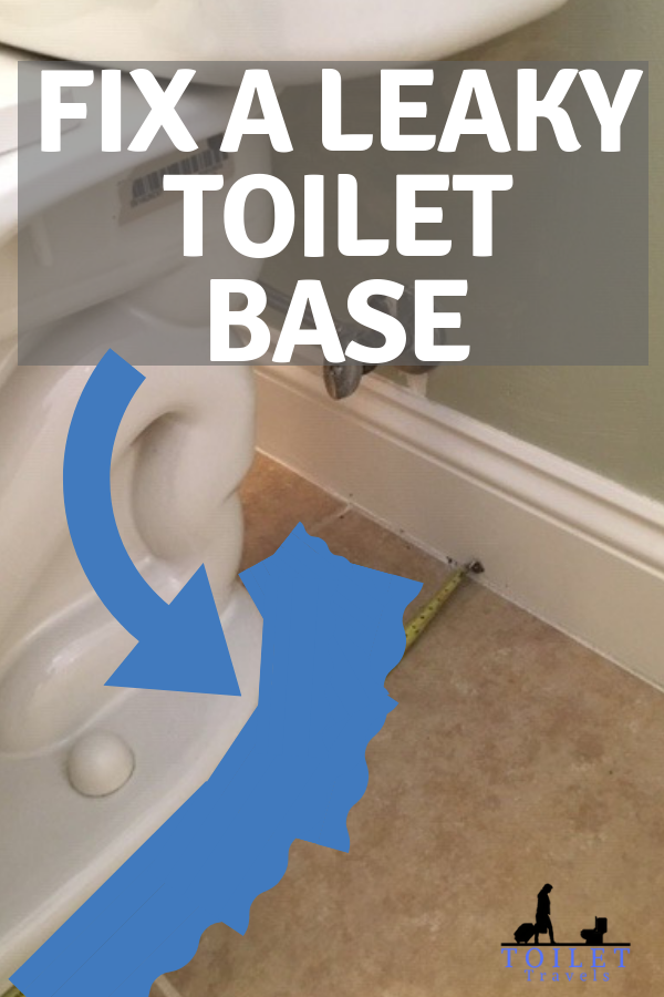 Is your toilet leaking from the base? It could be a sign of