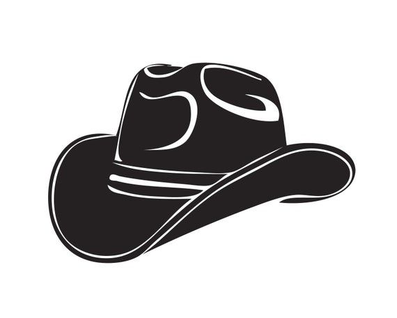 Cowboy Hat Western Southern Horse Texas Rodeos Cowgirl Country Etsy In 2021 Cowboy Hat Drawing Cowboy Hat Svg Cowboy Hats