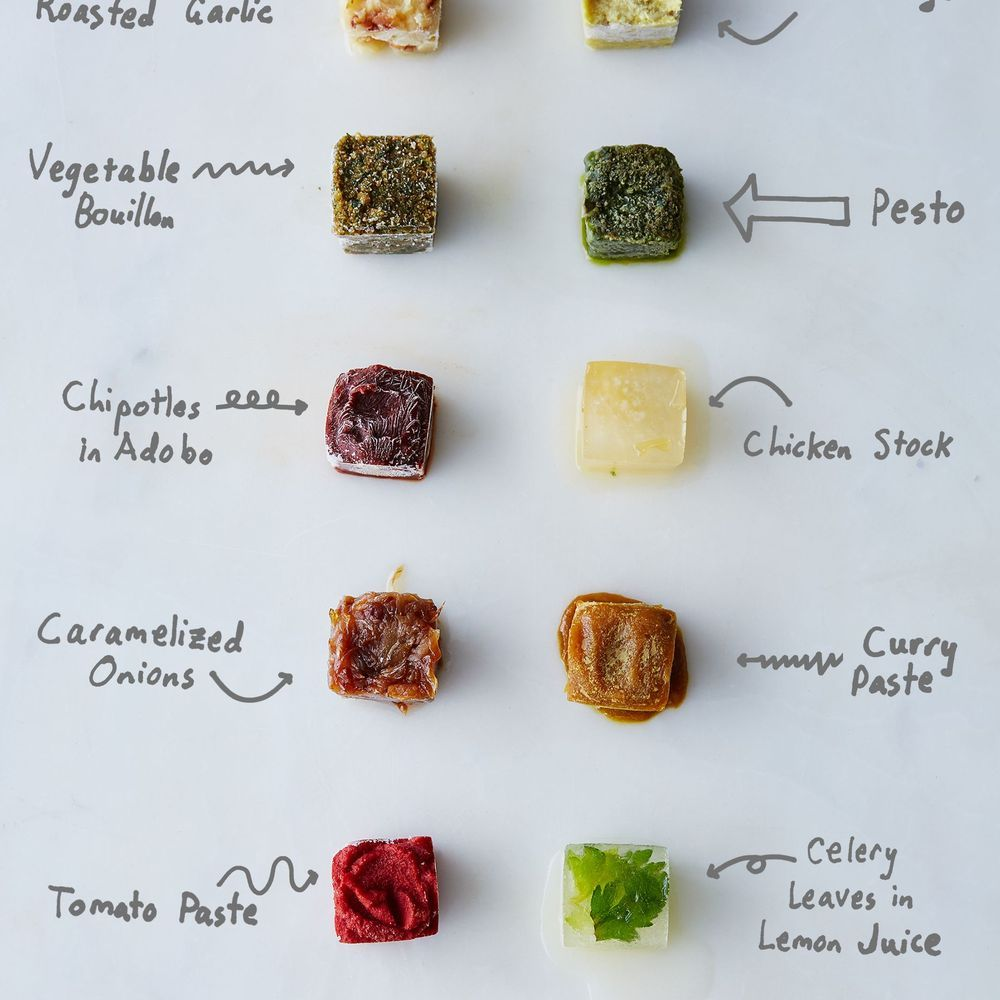 What to Freeze in Ice Cube Trays Besides Water