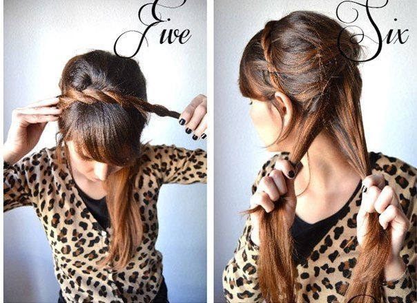 Hairstyles Braids Tumblr Step By Step: Braided Hairstyle For Girls