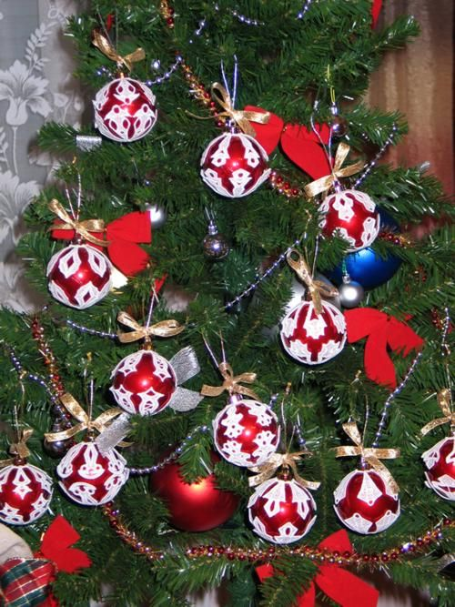free crocheted ornament cover patterns | CROCHET CHRISTMAS ORNAMENT COVERS  - Crochet — Learn How to Crochet - Free Crocheted Ornament Cover Patterns CROCHET CHRISTMAS ORNAMENT