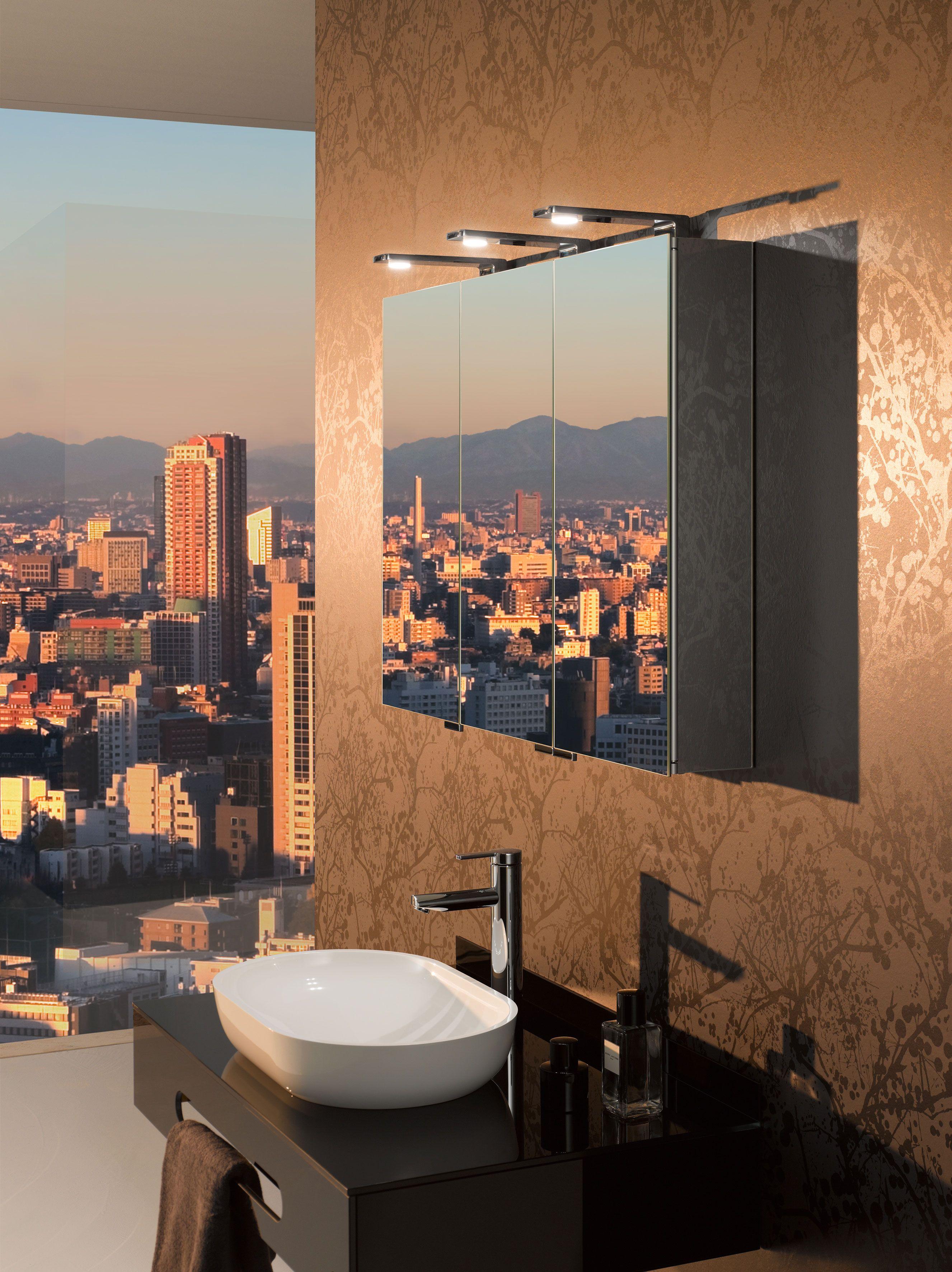 Slank design, hoogwaardige chroomoppervlakken en warm led-licht ...