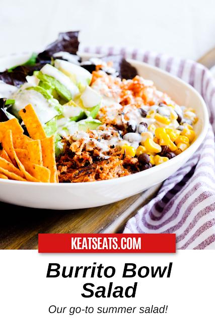 Burrito Bowl Salad Keat S Eats Recipe Burrito Bowl Burrito Salad Salad
