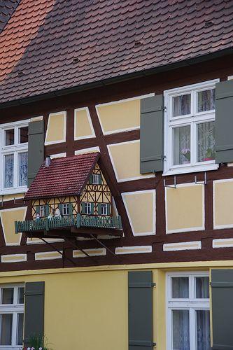 "German House Designs: ""Little Me"" In Dinkelsbühl (Bayern) Germany"