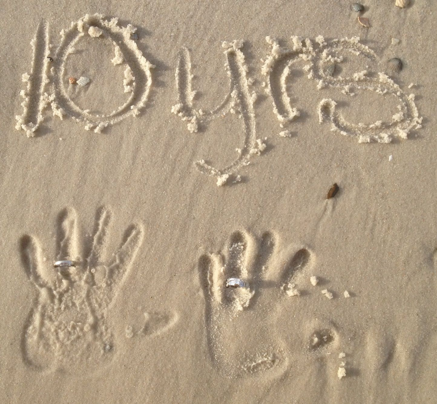 Great Picture Idea For Our 2nd Wedding Anniversary At The Beach