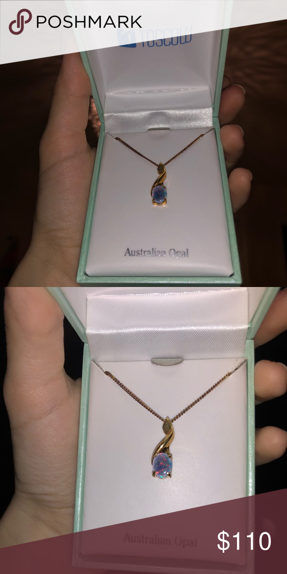 d8f95bbbc Toscow Australian Opal New necklace, never worn before. It's 100%  authentic, 925 sterling silver. All offers welcome Toscow Jewelry Necklaces