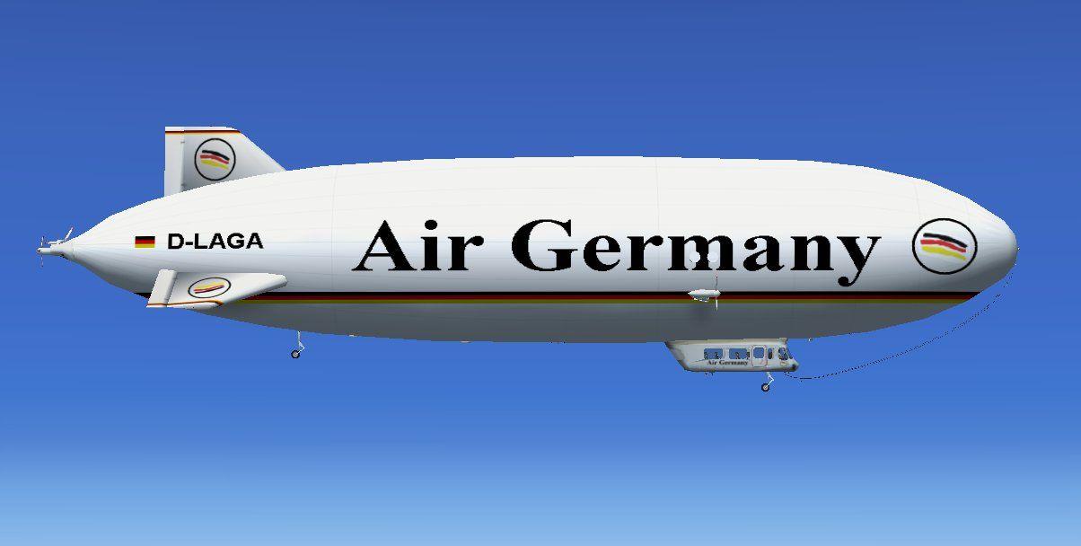 Deutsches Luftschiff heute