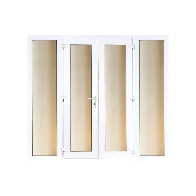 Model 6 French Door Set And 2 Wide Sidelites 2990mm Wide 2090mm High French Doors Door Sets Locker Storage