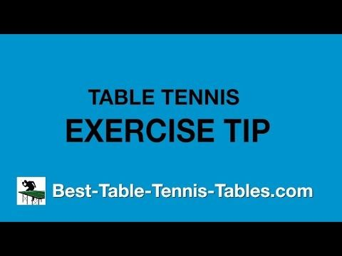 Ping Pong Footwork Exercise Drills Improve The Fore And Backhand Strokes Tennis Workout Ping Pong Table Tennis