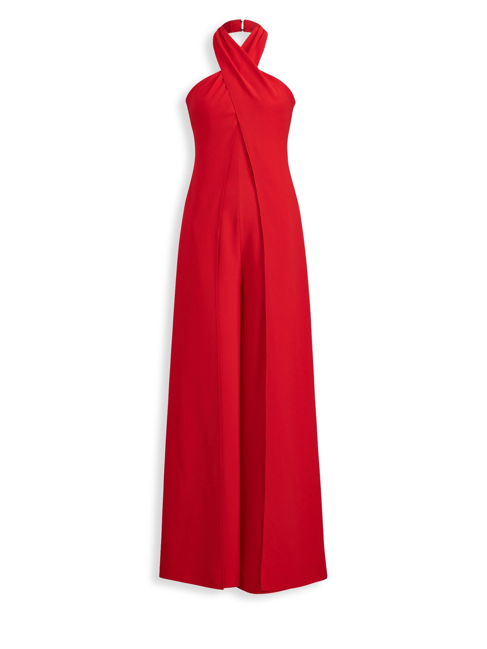Adelaide Halter Drama Jumpsuit By Ralph Lauren In 2018 Products
