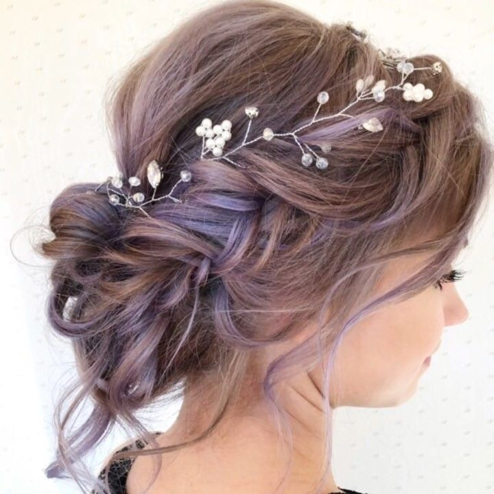 "Friends Wedding Hairstyles Kerala: Braids•Wedding•Hair•Colorado On Instagram: ""When My"