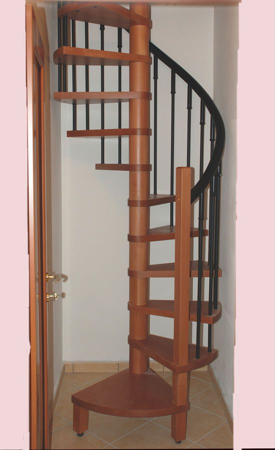 Genial Small Spiral Stairs. Might Be The Perfect Size For My Attic.