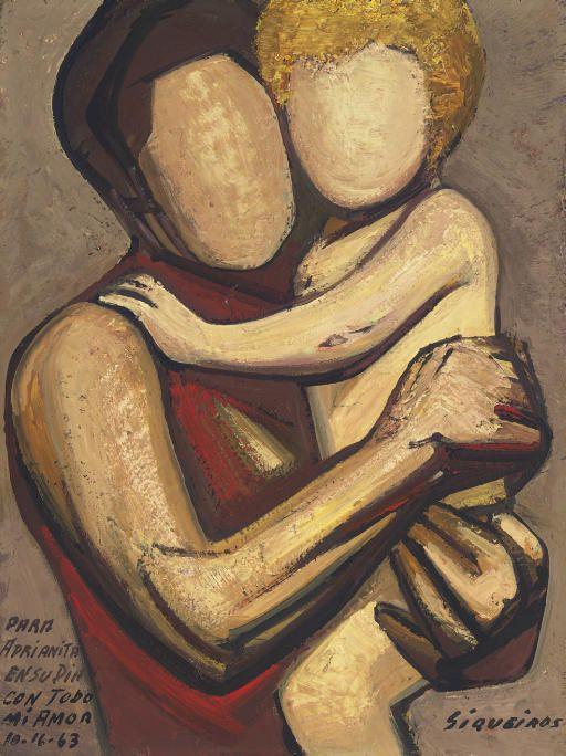 Los Dos Davides 1963 By David Alfaro Siqueiros David Arte