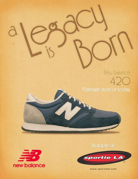 New Balance AD by Daniel Mesquita, via Behance