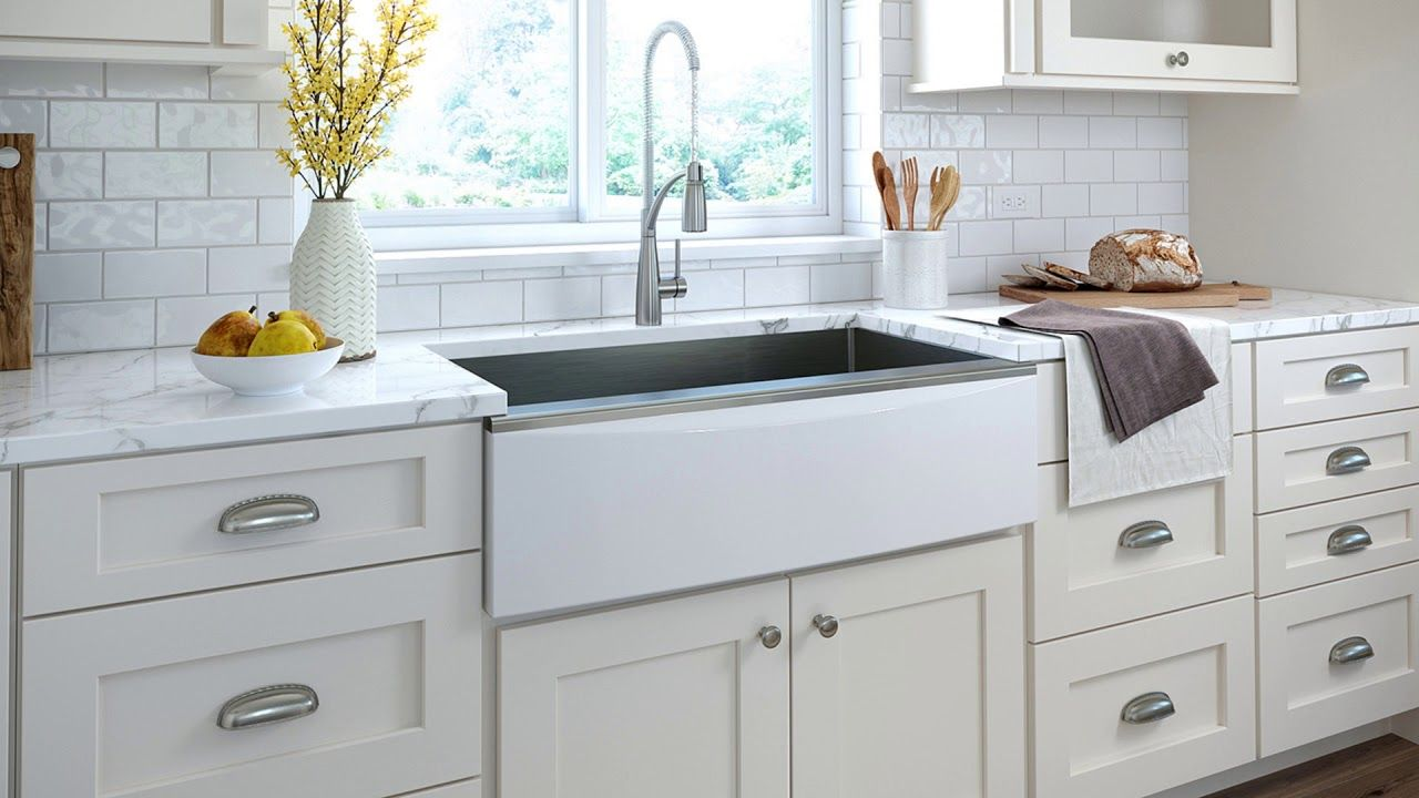 Coming Soon! Elkay Stainless Steel Farmhouse Sink with ...