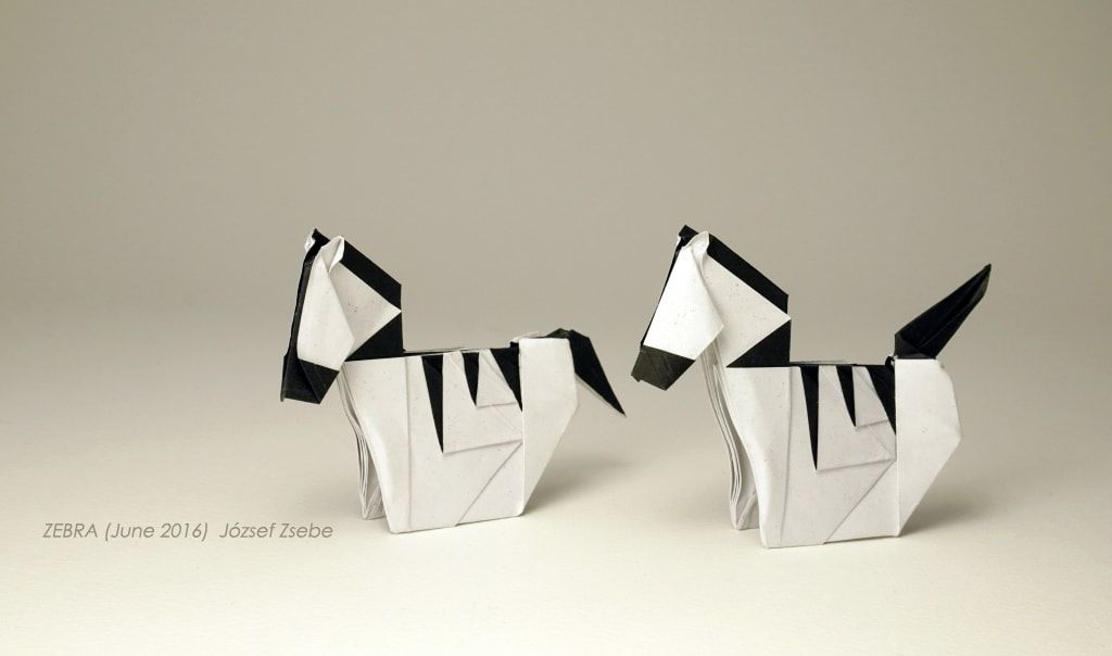 Safari: 26 Beautiful African Animals Made Out of Paper | origami