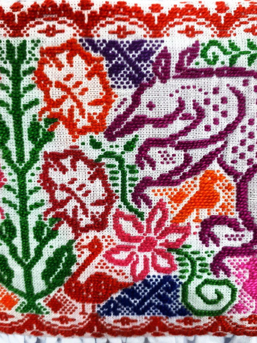 bordado hecho en Huauchinango
