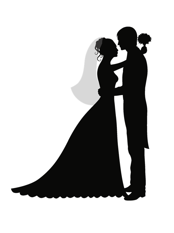 Boda 28155 29 Png 600 800 Bride And Groom Silhouette Wedding Silhouette Silhouette Pictures