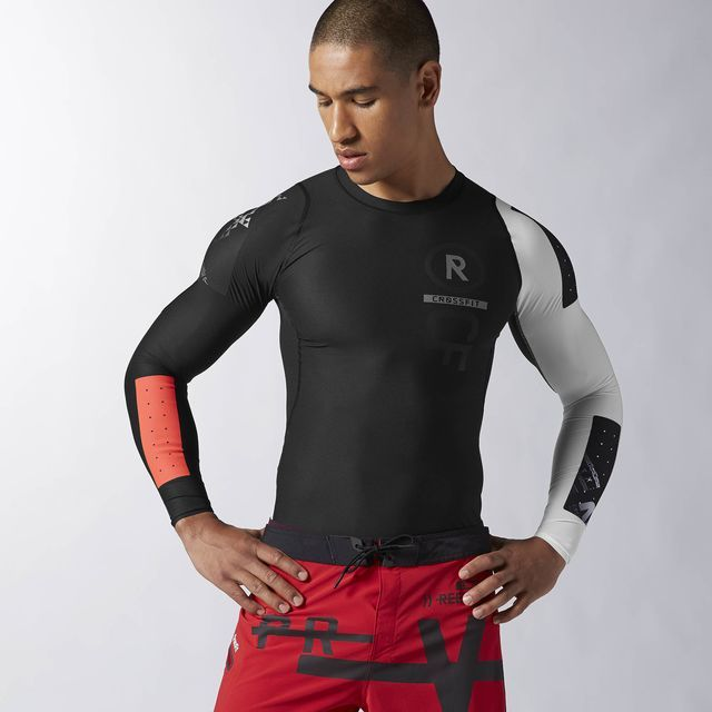 65c11b5e46c Reebok CrossFit Long Sleeve PWR5 Compression Top - Black