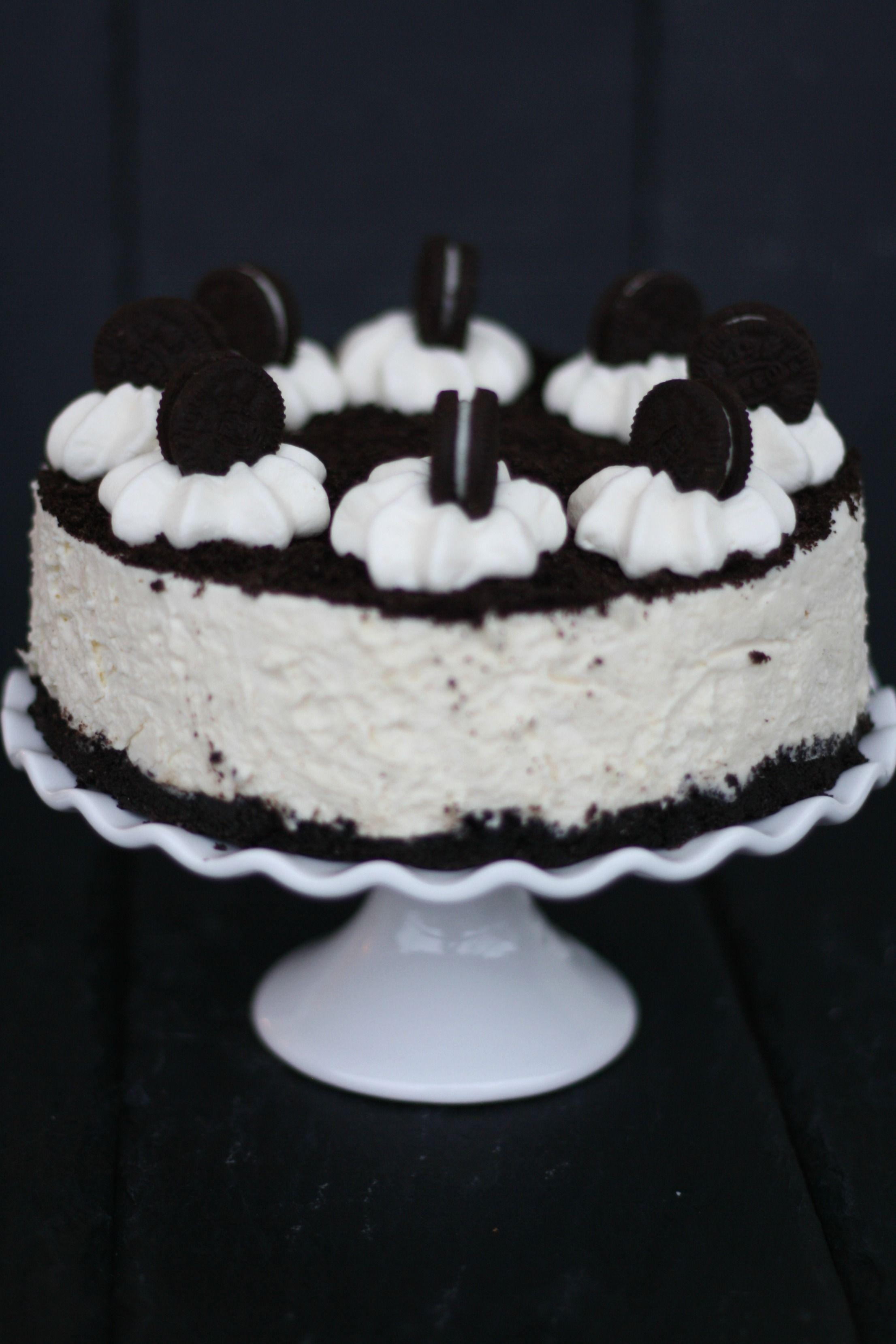 Klein aber oho Oreo Cheesecake mit weißer Schokolade Fräulein Cupcake