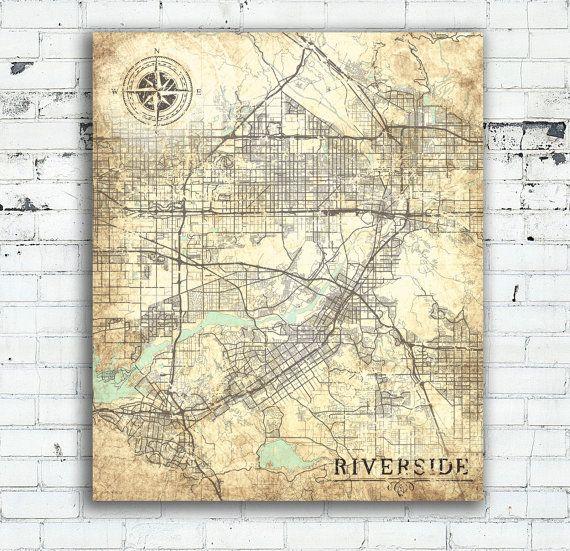 Пин на доске Vintage and Retro Style Maps