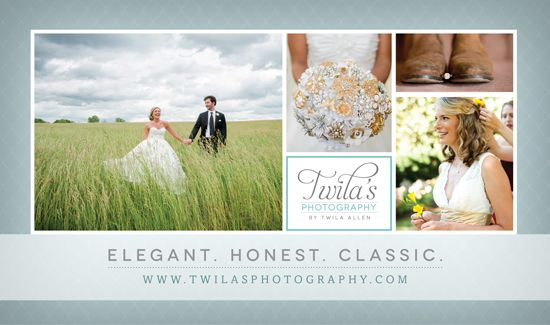 Magazine Ad For A Nashville Wedding Photographer Twila Allen