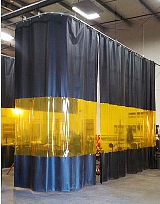 Welding Curtain Walls Akon Curtain And Dividers Clear Welding Curtains
